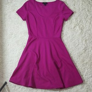 NWOT Forever 21 scoop neck short sleeve dress Sm